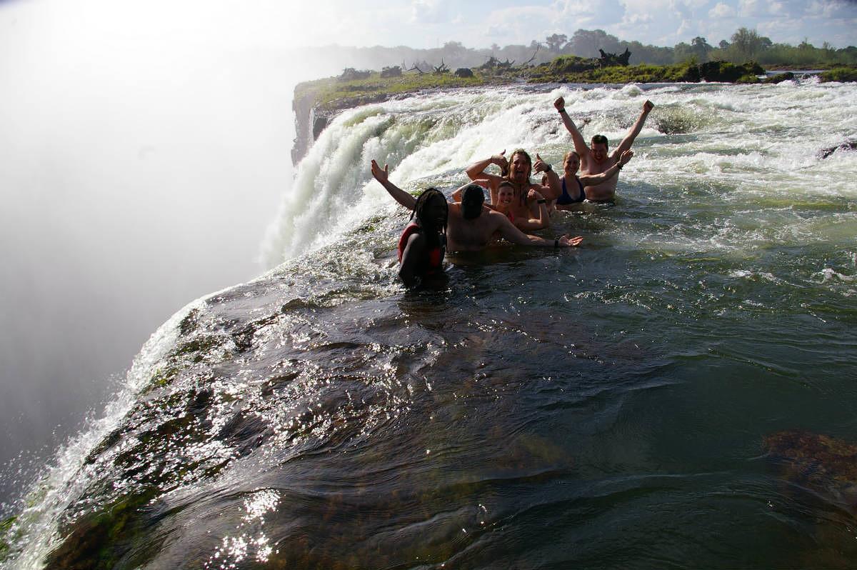 Devil's Pool, Livingstone Island, Zambia