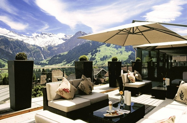 Fabulous hotel in the Swiss Alps