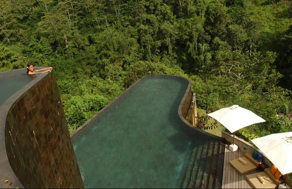 Hanging Gardens Ubud in Bali, Indonesia