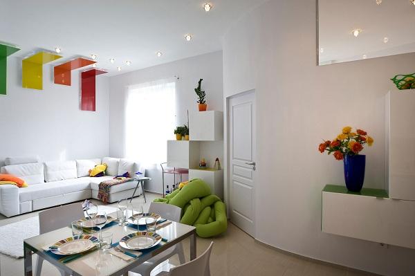 Happy colourful apartment