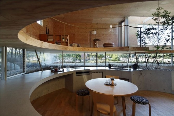 Landscape and architecture symbiosis in Japan (5)