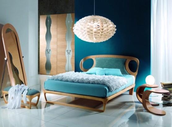 Modern bedroom design by Carpanelli