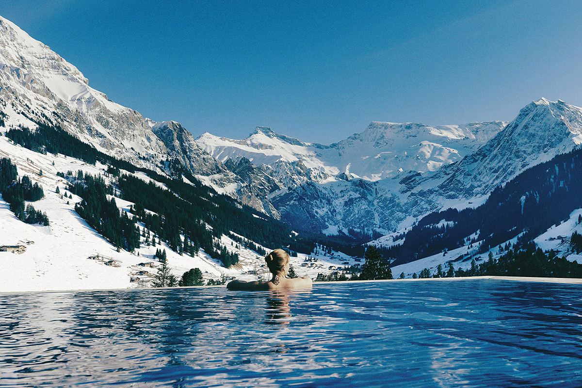 The Cambrian, Swiss Alps