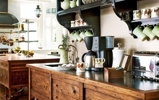 Traditional and elegant kitchen design