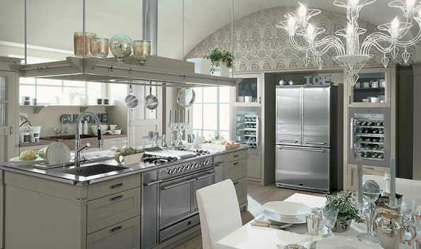 Amazing kitchen design by Minacciolo