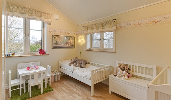 Bright kids' room designs
