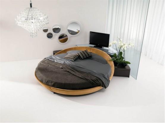 Contemporary round beds