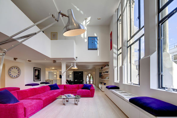 Former Victorian Church now a contemporary home