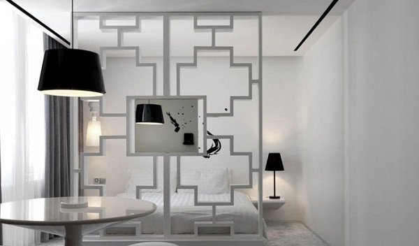 Gorgeous black and white boutique hotel in Singapore