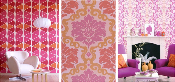Inspiration in pink and orange