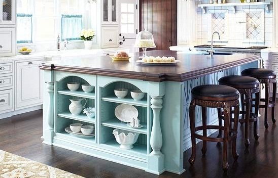Kitchen island color ideas
