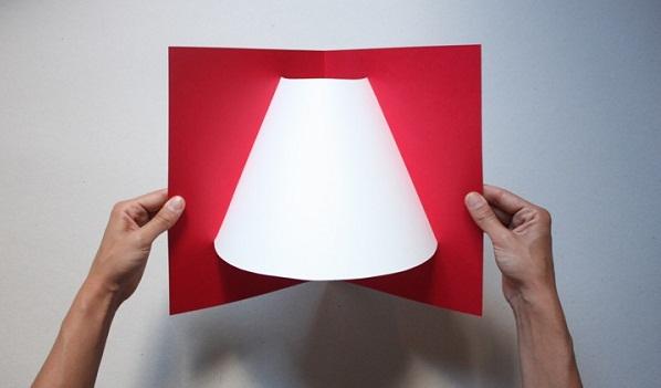 Pop-up corner light by Well Well Designers