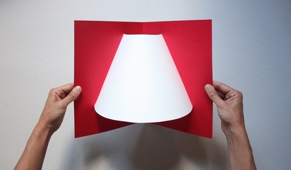 Pop-up corner light by Well Well Designers