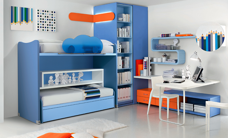 Practical and modern children furniture