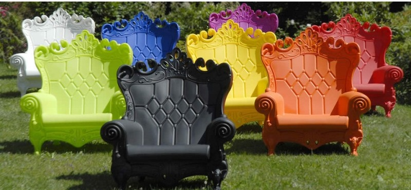 Feel like royalty with 'Queen of Love Chairs'