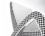 Retro-futuristic chair design