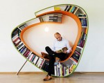 The Bookworm, both a bookcase and a chair