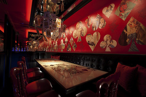 Alice in Wonderland-themed restaurant