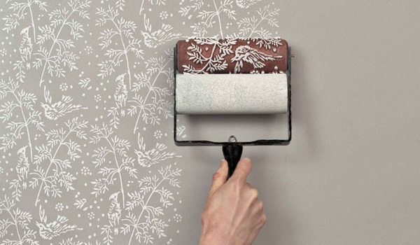 The future of decoration – patterned paint rollers