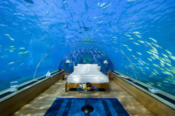 Poseidon Undersea Resort – underwater luxury