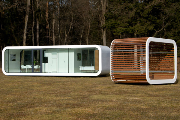 Prefabricated modular structures by Coodo