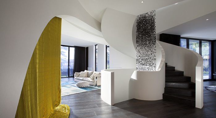The elegant Barry Street Residence in Melbourne
