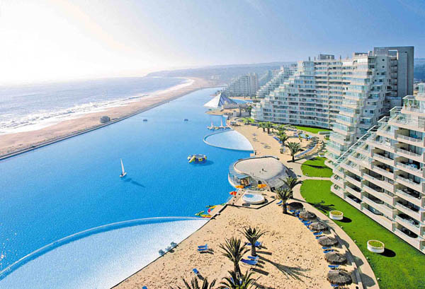 The world's largest and most impressive swimming pool