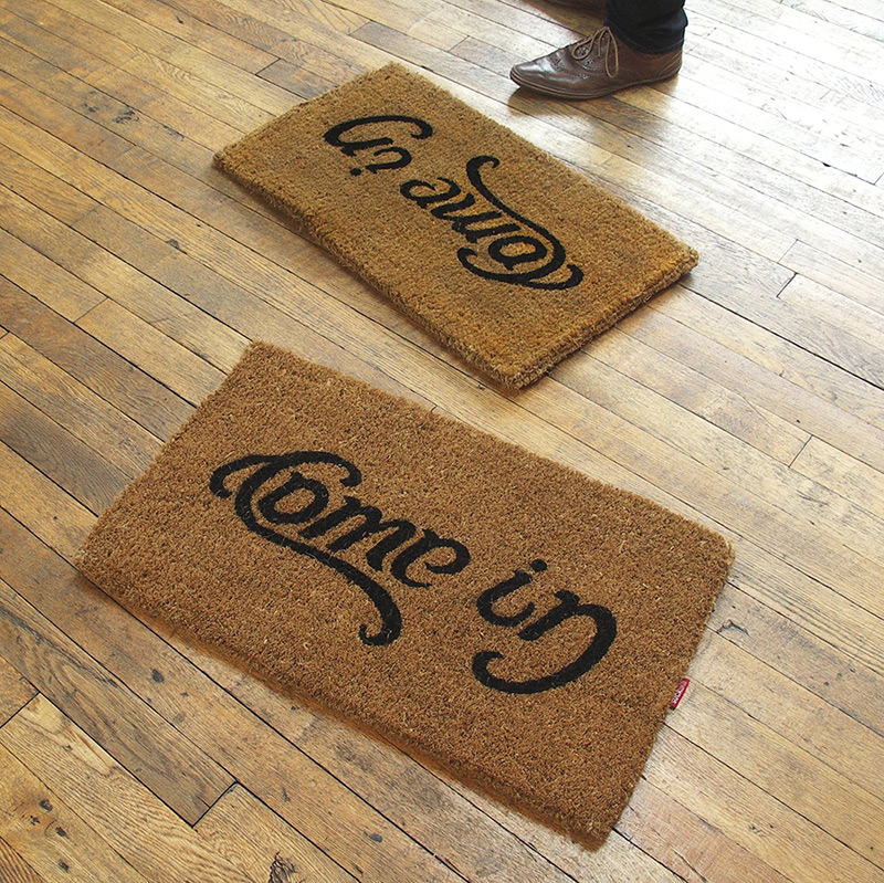 Come In - Go Away Doormat