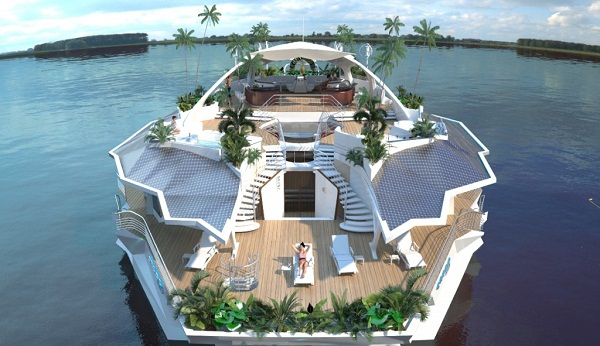 Having your own private floating island