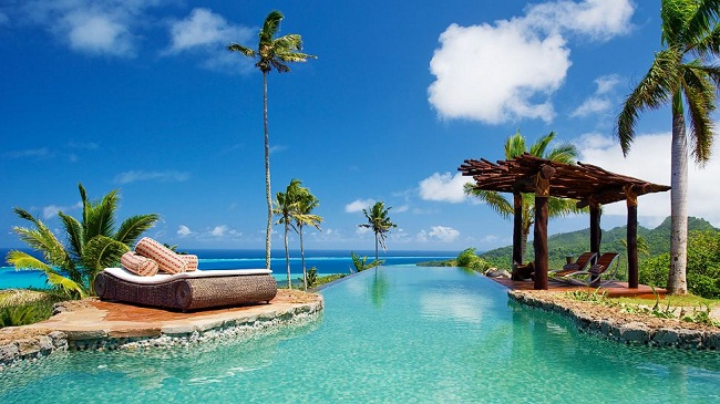 Laucala Island in Fiji - the destination of your dreams