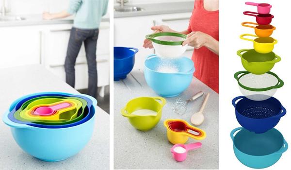 8-piece nesting bowls set