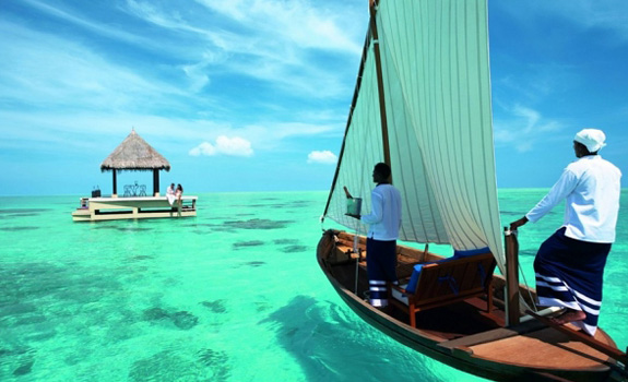 The Surreal Taj Exotica Resort in the Maldives