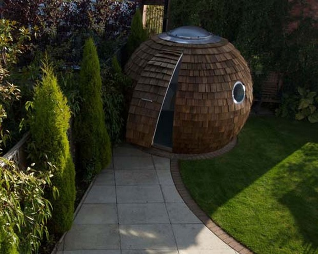The Archipod – a contemporary garden office