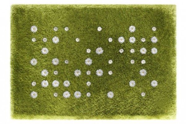 The Daisy Garden Rug – invite spring in your home