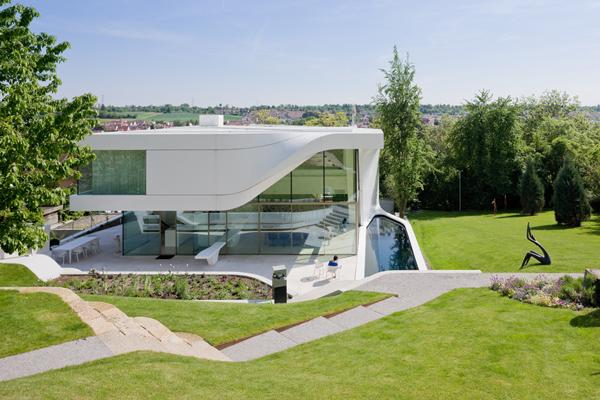 Twisted modern house