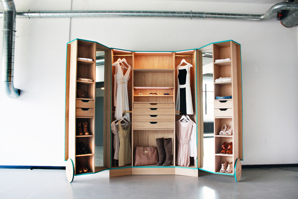 Functional furniture design: a wardrobe that wows