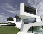 Futuristic house design in Germany