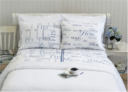 His & Hers sheet set