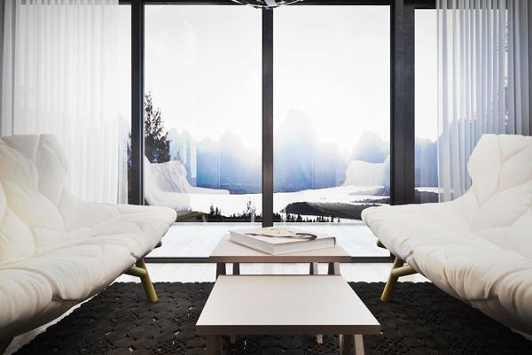 Modern small house design by Igor Sirotov