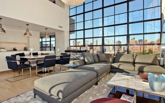 Penthouse apartment of elegant proportions