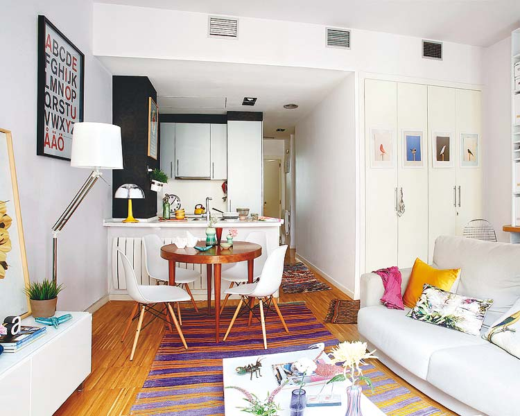 A small Madrid apartment makes the most of its space