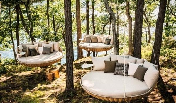 Swingrest utdoors lounger for your home