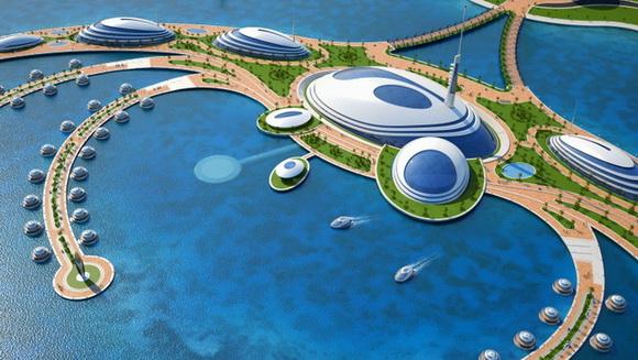 The unique and enchanting marina design – Amphibious 1000