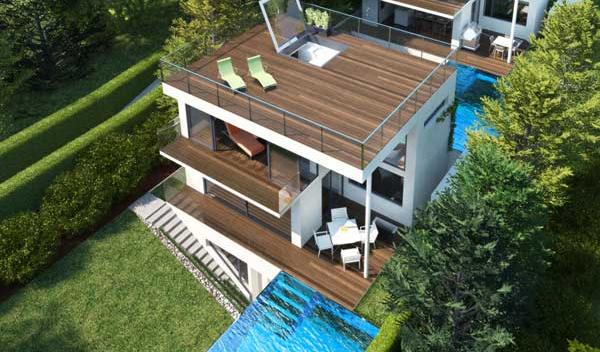 Urban dream house