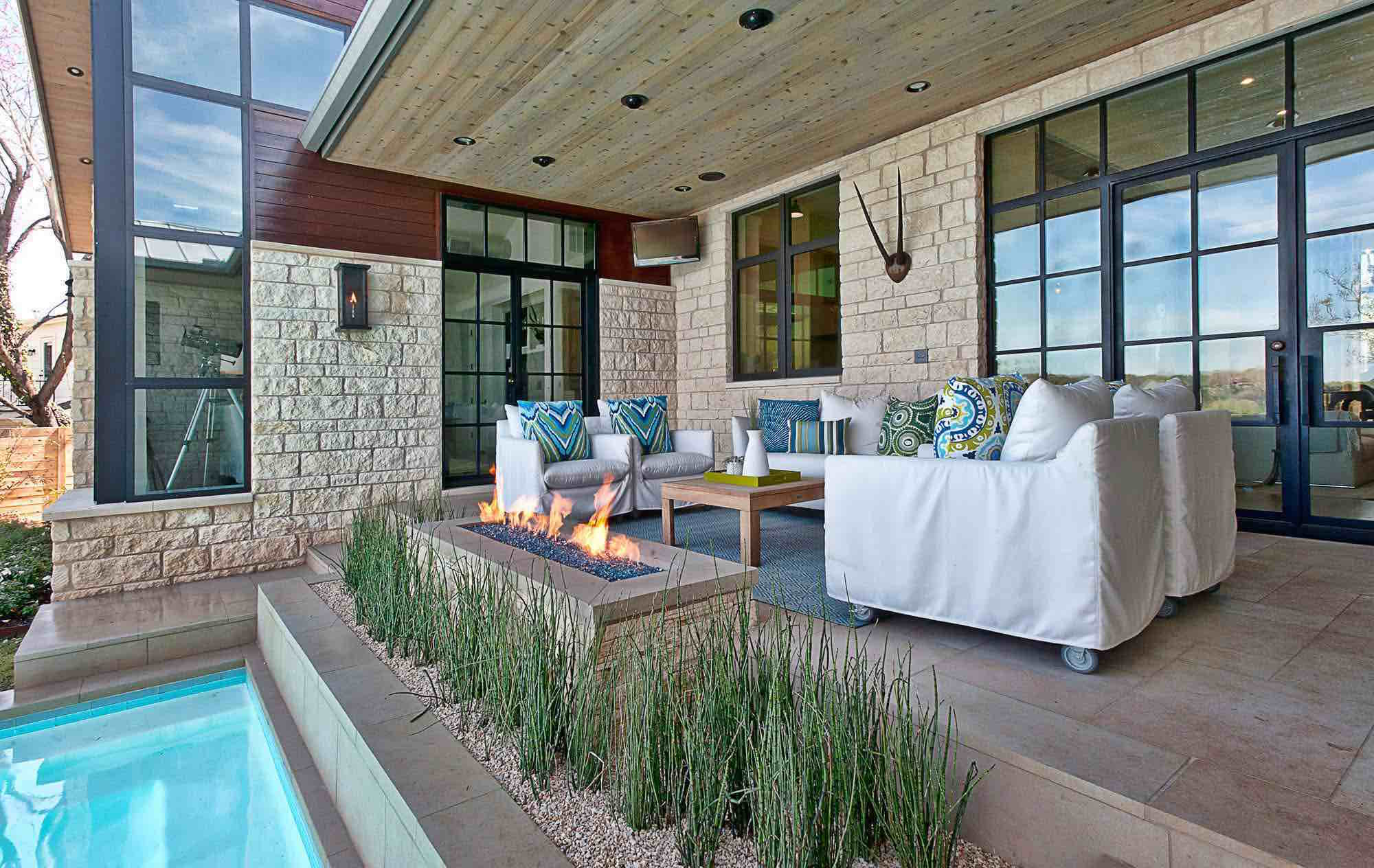 Gorgeous patio design
