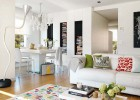 Cute and modern apartment interior design