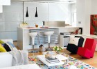 Cute and modern apartment interior design  (4)