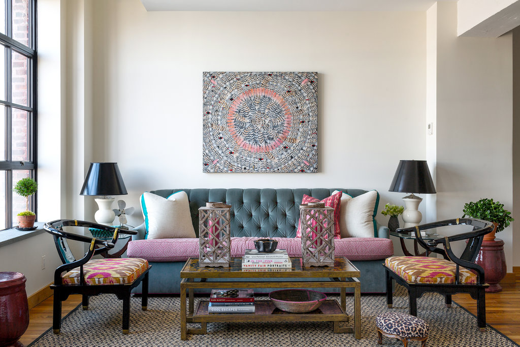 Eclectic apartment design: an amalgam of style