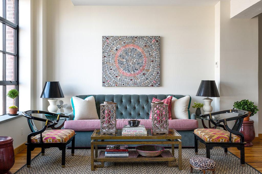 Eclectic apartment design: an amalgam of style