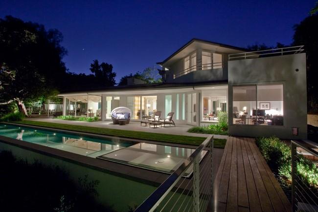 Geometric design and a modern home interior
